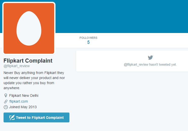 Twitter flipkart