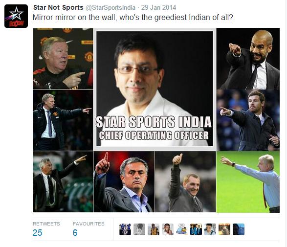 Twitter star sports