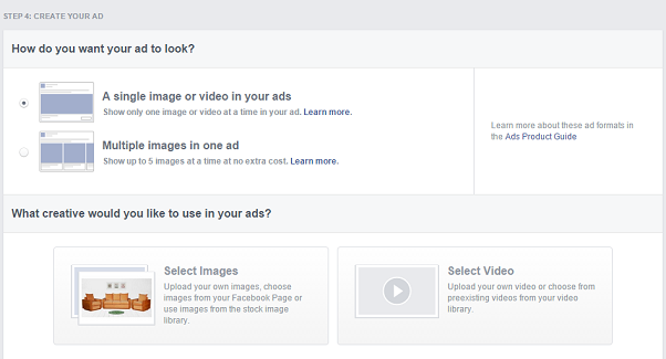 facebook remarketing campaign - facebook ads creative