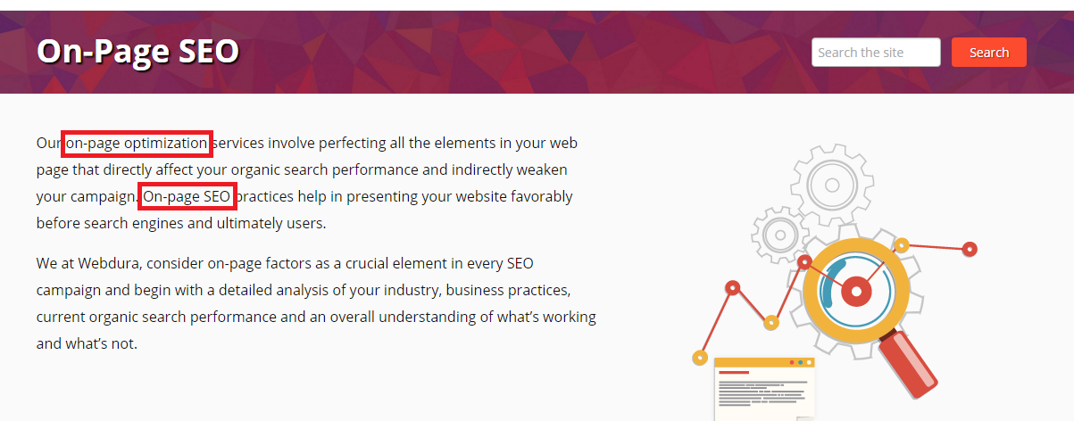 on page seo checklist 2016 - On Page SEO Content Keywords