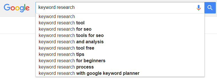 Seo Keyword Research - Google Instant Search