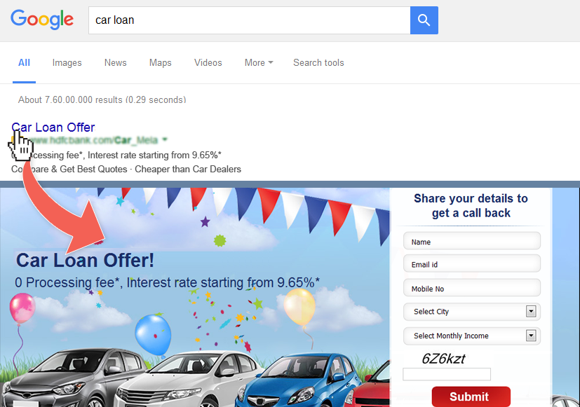 PPC Landing Page Tips and Tricks - Adding Call to Action