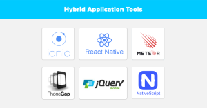 Hybrid apps for small business owners - Hybrid application tools